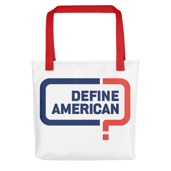 Define American Tote bag