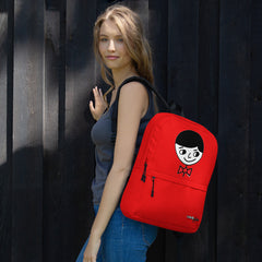 """Luke Perfect Gentleman"" Red Backpack by Luke & Lynn Clothing www.lukeandlynn.com"