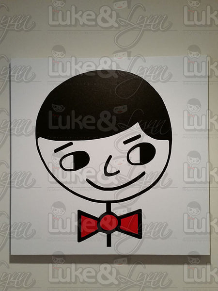"""Luke Perfect Gentleman"" Canvas Art"