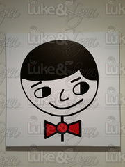 "Luke&Lynn Clothing ""Luke The Perfect Gentleman"" Canvas Art Reprint by artist Mr. Potter Esquire"