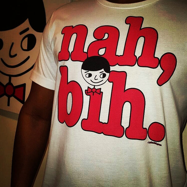"Luke ""Nah, Bih."" Men's T-Shirt"