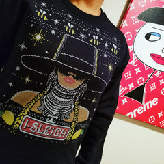"Beyonce ""Bey-Sleigh"" Ugly Xmas Unisex (Men/Women) Sweater / Sweatshirt by Luke&Lynn Clothing, ugliest christmas sweaters, ugly christmas jumpers, ugly christmas sweater, ugly christmas sweater cheap, ugly christmas sweater for women, ugly christmas sweater party, ugly christmas sweaters for men, ugly christmas sweaters for sale, ugly holiday sweaters, ugly mens christmas sweaters, ugly sweater, ugly sweater obj, ugly sweater party, ugly xmas sweater, ugly xmas sweaters,"