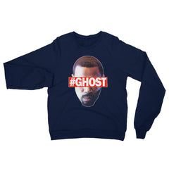 """Free Ghost"" Unisex (Men/Women) Navy Blue Sweatshirt by Luke&Lynn Clothing (inspired by the STARZ Series, Power)"