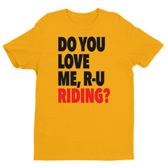 """Keke... Do you love me?"" Men's Yellow T-Shirt by Luke&Lynn Clothing www.lukeandlynn.com"