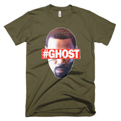 """Free Ghost"" Men's Army Green T-Shirt by Luke&Lynn Clothing (inspired by the STARZ Series, Power)"