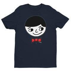 "Luke ""Perfect Gentleman"" Men's Navy Blue T-Shirt by Luke&Lynn Clothing www.lukeandlynn.com"