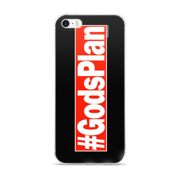 """#GodsPlan"" iPhone Case"