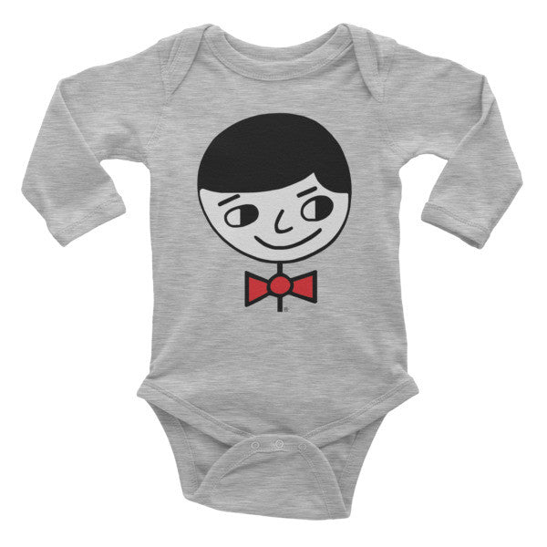 """Luke Perfect Gentleman"" Infant Long Sleeve Onesie"