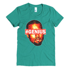 "Kanye West Pablo ""#Genius"" Women's Mint T-Shirt by Luke&Lynn Clothing"