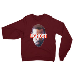 """Free Ghost"" Unisex (Men/Women) Maroon Sweatshirt by Luke&Lynn Clothing (inspired by the STARZ Series, Power)"