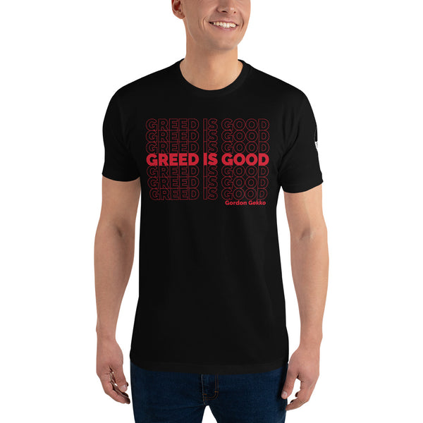 "Gecko ""Greed Is Good"" T-shirt"
