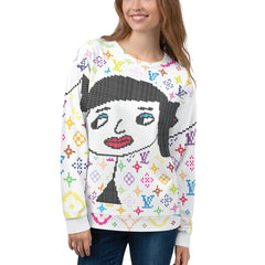 "Lynn ""Rainbow Beauty-Big-Face"" Ugly Holiday Sweater"