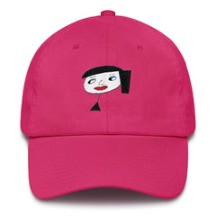 "Lynn ""Pretty Face"" Pink Dad Hat by Luke&Lynn Clothing"
