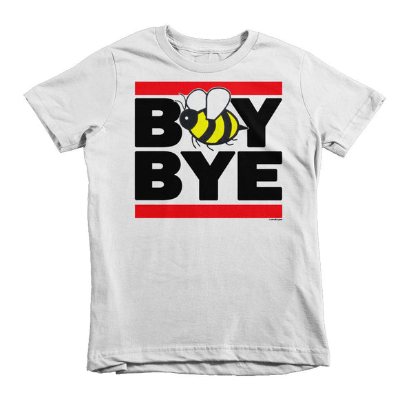 """Boy Bye"" Bee Kids (Unisex) T-Shirt (White / Blue / Pink)"