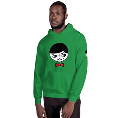"Luke ""Perfect Gentleman"" Unisex (Men/Women) Green Hoodie"