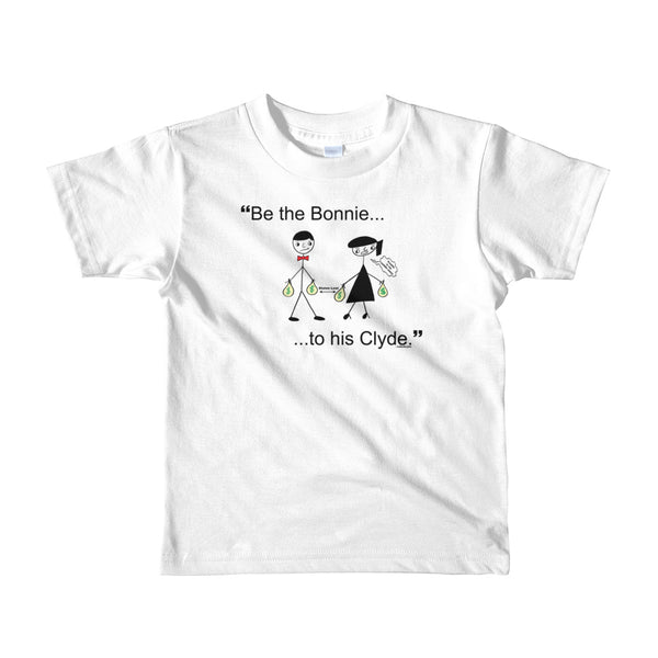 """Bonnie & Clyde"" Kids Unisex T-Shirt (Age 2yrs-6yrs)"