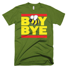 """Boy Bye"" Bee Men's Olive Green (Unisex) T-Shirt by Luke&Lynn Clothing (inspired by Beyonce)"