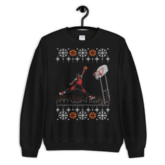 """Original 1984-85 Jumpman Dunk"" Unisex Ugly Sweater by Luke & Lynn Clothing www.lukeandlynn.com"
