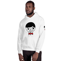 "Luke ""Perfect Gentleman"" Unisex (Men/Women) White Hoodie"