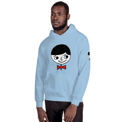 "Luke ""Perfect Gentleman"" Unisex (Men/Women) Baby Blue Hoodie"