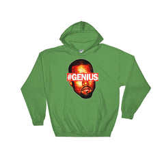 "Kanye Pablo ""Genius"" Unisex Irish Green Hoodie by Luke&Lynn Clothing Disposable Income Clothing www.lukeandlynn.com"