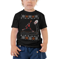 """Original 1984-85 Jumpman Dunk"" Unisex Ugly Sweater Toddler T-shirt"