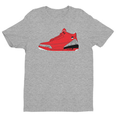 "DJ Khaled Luke ""Khaled Retro 3"" Men's Grey T-shirt by Luke&Lynn Clothing"