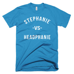 """Stephanie vs Headphanie"" Men's T-Shirt by Luke&Lynn"