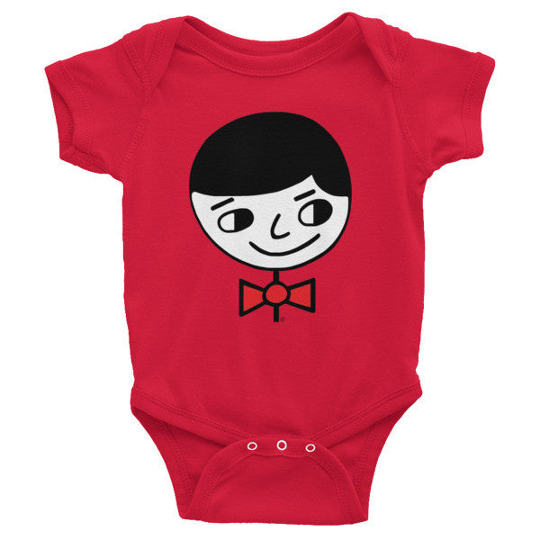"""Luke Perfect Gentleman"" Infant Short Sleeve Onesie"