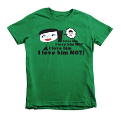 """I Love Him Not"" Kids T-Shirt"