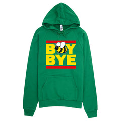 """Boy Bye"" Bee Women's Green (Unisex) Hoodie by Luke&Lynn Clothing (inspired by Beyonce)"