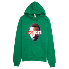 """Free Ghost"" Unisex (Men/Women) Green Hoodie by Luke&Lynn Clothing (inspired by the STARZ Series, Power)"