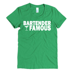 "Nightclub ""Bartender Famous"" Women's T-Shirt"