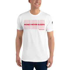 "Gecko ""Money Never Sleeps"" T-shirt"