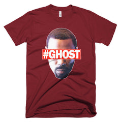 """Free Ghost"" Men's Cranberry T-Shirt by Luke&Lynn Clothing (inspired by the STARZ Series, Power)"
