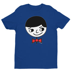 "Luke ""Perfect Gentleman"" Men's Blue T-Shirt by Luke&Lynn Clothing www.lukeandlynn.com"