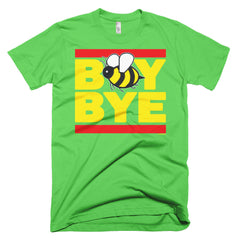 """Boy Bye"" Bee Men's Lime Green (Unisex) T-Shirt by Luke&Lynn Clothing (inspired by Beyonce)"