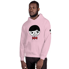 "Luke ""Perfect Gentleman"" Unisex (Men/Women) Pink Hoodie"