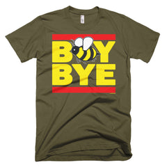 """Boy Bye"" Bee Men's Army Green (Unisex) T-Shirt by Luke&Lynn Clothing (inspired by Beyonce)"