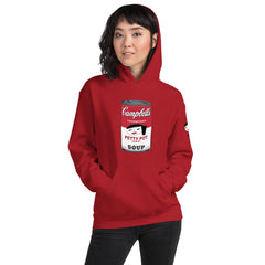 "Lynn ""Petty Pot Soup"" Unisex Red Hoodie"