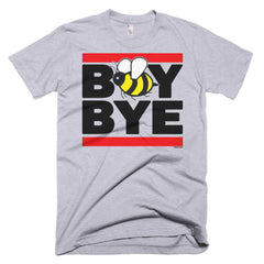 """Boy Bye"" Men's Heather Grey (Unisex) T-Shirt by Luke&Lynn Clothing (inspired by Beyonce)"