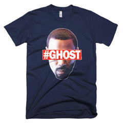 """Free Ghost"" Men's Navy Blue T-Shirt by Luke&Lynn Clothing (inspired by the STARZ Series, Power)"