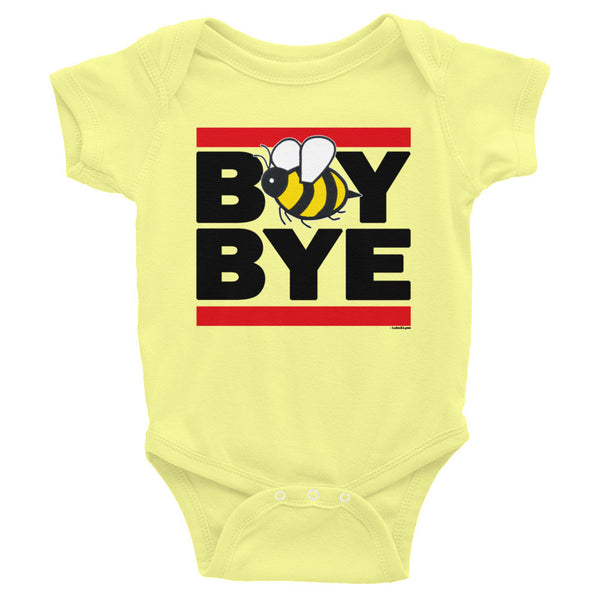 """Boy Bye"" Bee Infant Short Sleeve Onesie (Bright Colors)"