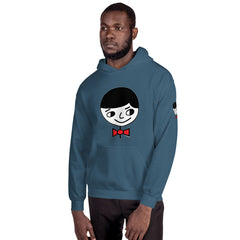 "Luke ""Perfect Gentleman"" Unisex (Men/Women) Sea Blue Hoodie"
