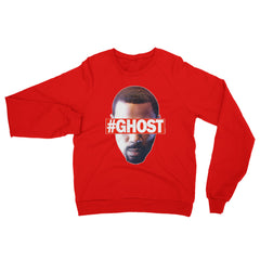 """Free Ghost"" Unisex (Men/Women) Red Sweatshirt by Luke&Lynn Clothing (inspired by the STARZ Series, Power)"