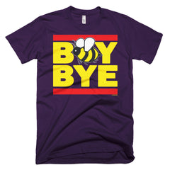 """Boy Bye"" Bee Men's Purple (Unisex) T-Shirt by Luke&Lynn Clothing (inspired by Beyonce)"