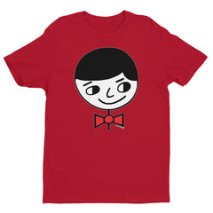 "Luke ""Perfect Gentleman"" Men's Red T-Shirt by Luke&Lynn Clothing www.lukeandlynn.com"
