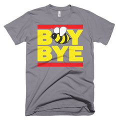 """Boy Bye"" Bee Men's Grey (Unisex) T-Shirt by Luke&Lynn Clothing (inspired by Beyonce)"