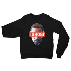 """Free Ghost"" Unisex (Men/Women) Black Sweatshirt by Luke&Lynn Clothing (inspired by the STARZ Series, Power)"