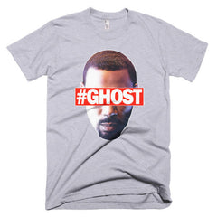 """Free Ghost"" Men's Heather Grey T-Shirt by Luke&Lynn Clothing (inspired by the STARZ Series, Power)"